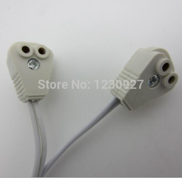 led fluorescent tube T4 T5 light cap connecting line socket cable lamp holder lamp horn line T4 T5 Tube cap line.