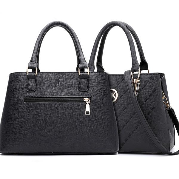 0600ddb36344 Women s Top-handle Cross Body Handbag Middle Size Purse Durable Leather Tote  Bag M Brand K Luxury Handbags Ladies Shoulder Bags