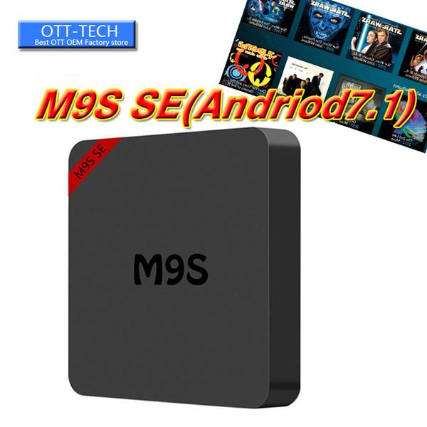 Новый MXQ Pro 4K M9S SE смарт Android TV Box Rockchip Box TV Android 7.1 потокового медиа-плеер WiFi H. 265 3D бесплатно HDMI обновление