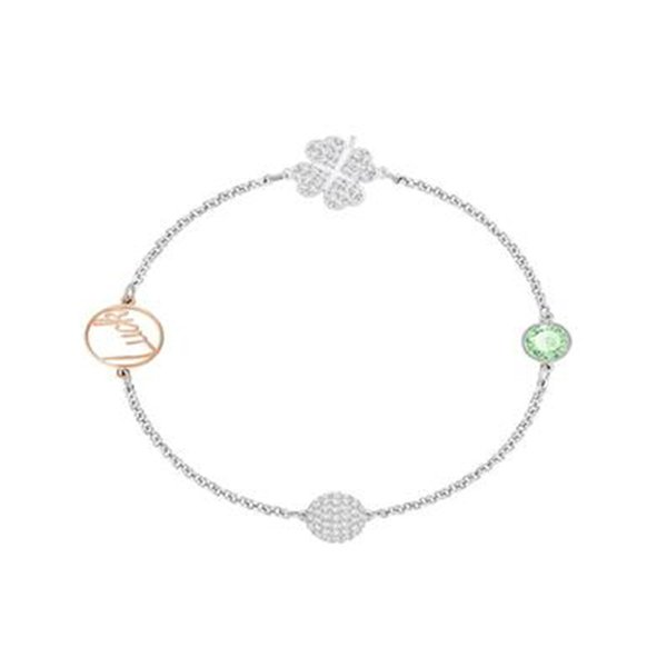 Original Charm Four Leaf Clover Bracelet Female Couple Stacking With Chinese Valentine's Day Gift Gift Jewelry
