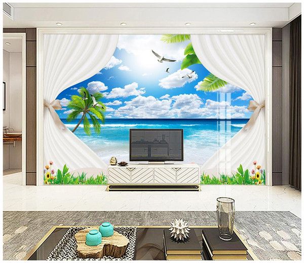 Custom Mural Photo 3d Wallpaper Beautiful Dream Seascape Coco Beach on modern house design, free design programs, blender home design, make a 3d design, interior design, design home design, free design your own kitchen, free foreclosed home listings, 3ds max home design, architect home design, exterior home design, houzz home design, self-sustaining home design, photoshop home design, cat home design, free virtual home design, free design your dream home, free software home design, 3d mansion design, this home app design,