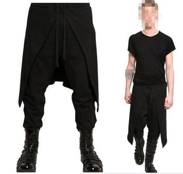 2019 Adult Men Medieval Renaissance Lounge Loose Pants Viking Black Brown  Navigator Leg Bandage Trouser Pirate Horseman Costume Sexy From Baldwing,