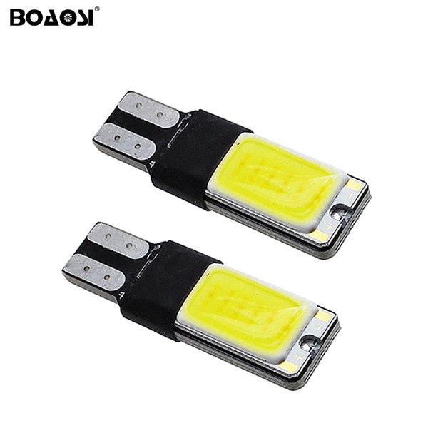High Power T10 W5W LED COB W16W T10 Canbus Error Led car Motorcycle light source stop turn signal brake Parking Bulb Lamp