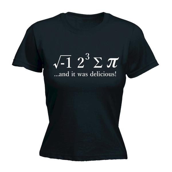 Camiseta de las mujeres I Ate Sum Pi Camiseta para mujer Camiseta 8 Algunos Tarta Escuela de Matemáticas Regalo divertido del día de madres Venta caliente Moda Mujeres Fitness camiseta
