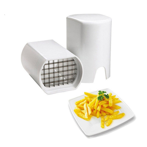 Stainless Steel French Fry Cutter Kitchen Potato Chip Cutter Slicer Fries French Fry Potato Cutter Kitchen Tools