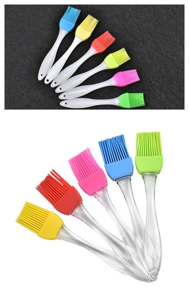 DHL & SF-UPS Silicone Basting Brush Oil Brushes rubber Pastry Brush for for Desserts Baking Barbecue Party BBQ
