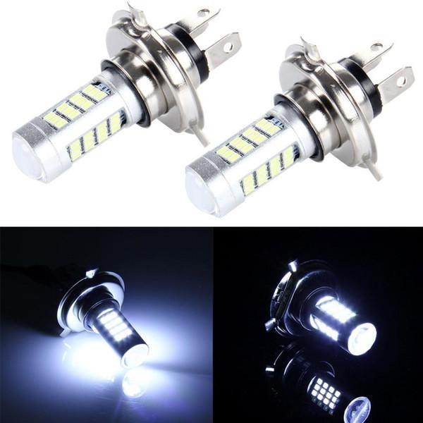 best selling 1pcs h7 led canbus H7 H4 H6M BA20D P15D 42SMD 2835 Bulb High Power Car LED Fog Lights White Light FOR MOTOR bike