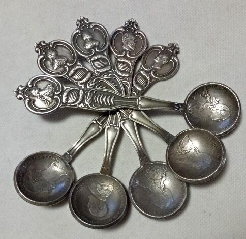 Russia emperor coins spoons commemorative coins-replica coins medal coins collectibles badge