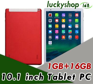 10.1-inch tablet PC IPS Android 6.0 3G MTK6592 quad-core Real 1GB+16GB DHL Fast Shipping 20pcs