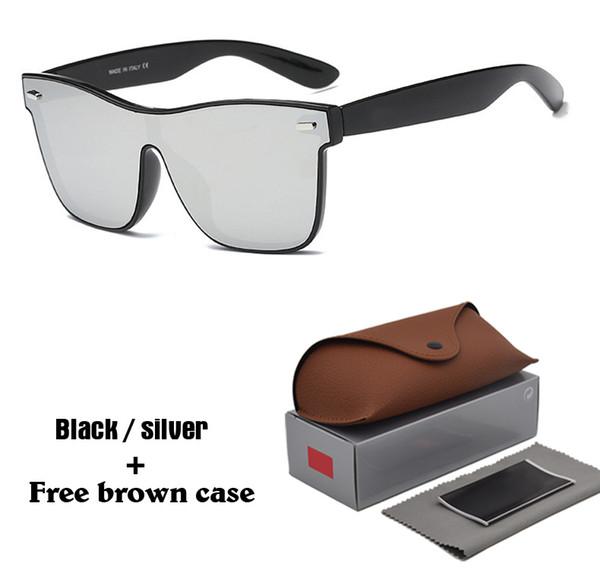 Cat Eye Солнцезащитные очки Модный бренд Дизайнер леди женское зеркало Очки Солнцезащитные очки для женщин Люнетки Femme Quay стиль с чехлом и коробкой