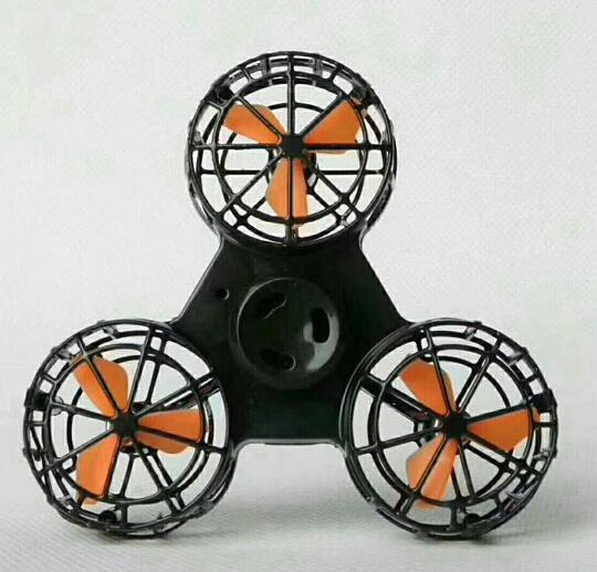 best selling The new rechargeable flying gyro double interactive game gyro aerial rotation fingertip gyro TL 001