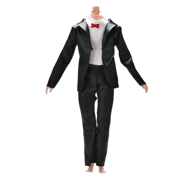 3Pcs/set Fashion Handmade Bride Suit With White Shirt For s Boy Firend Ken Doll