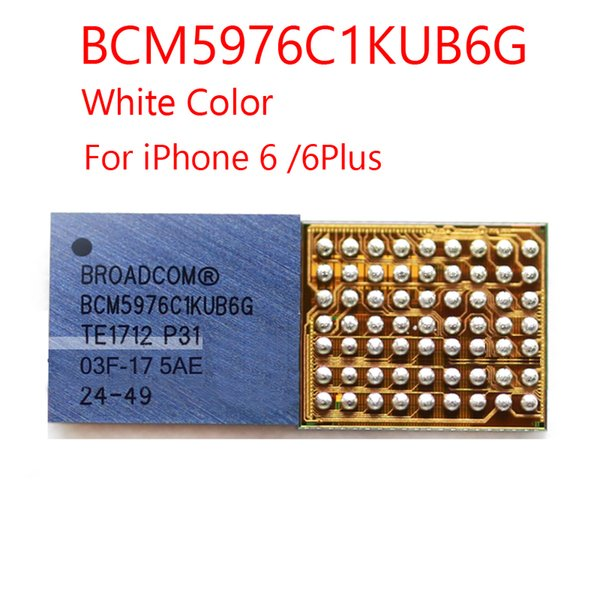 5 pz / lotto Touch iC Chip BCM5976 343s0628 343s0645 343s0694 Per iPhone 5 5S 6 / 6P bianco U2401 + nero U2402 Touch Screen IC parti di riparazione