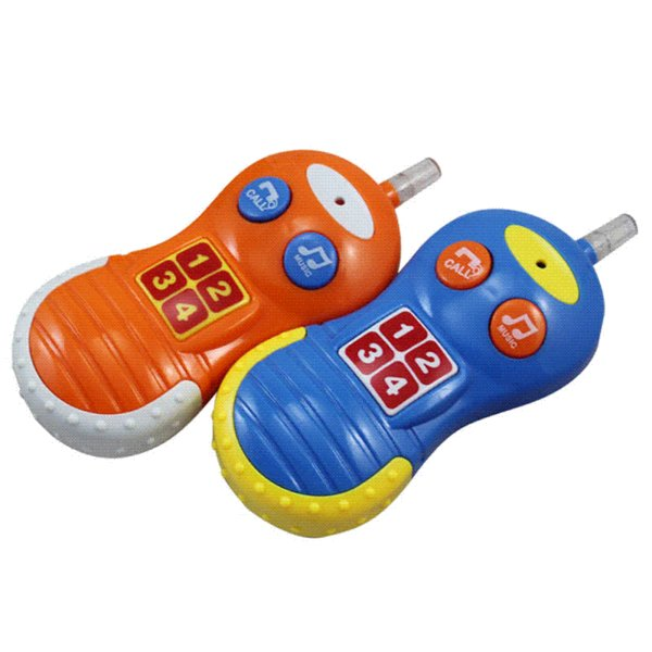 Baby Kids Learning Study Phone Toy Musical Sound Cell Phone Children Educational Toy Phones wholesale