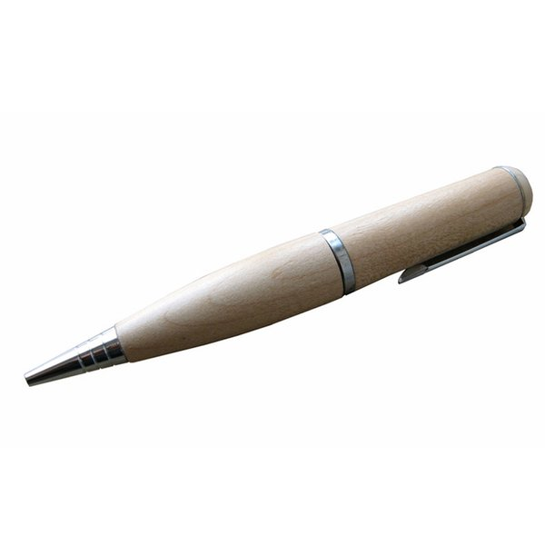 10 Piece 4GB 8GB No Logo Wood Pen U Disk Capacity Enough U Disk USB2.0 Environmental protection Pen USB Flash Drives