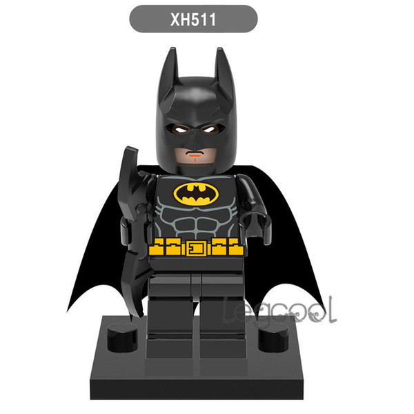 Batman X0147 Super Heroes XH511 Fairy Tartan Pajamas Joker Clan of the Cave Batman Catman Action Figures DIY Figure Compatible Children Toys