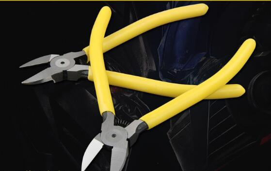 Free Shipping High Quality 6 Inch Plastic Nippers CR-V Electrical Diagonal Pliers Wire Side Cutting Snips Flush Plier