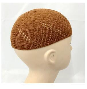 Free size Knitted men cap wrap weaving Muslim men Hat can choose colors Free Shipping Hot Sale