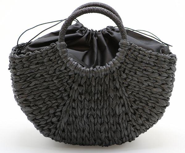 2018 New Fashion Women Crossbody Bags Girls Straw Bag Hobos Luxury Handbags Women Bags Designer Messenger Bag Leather
