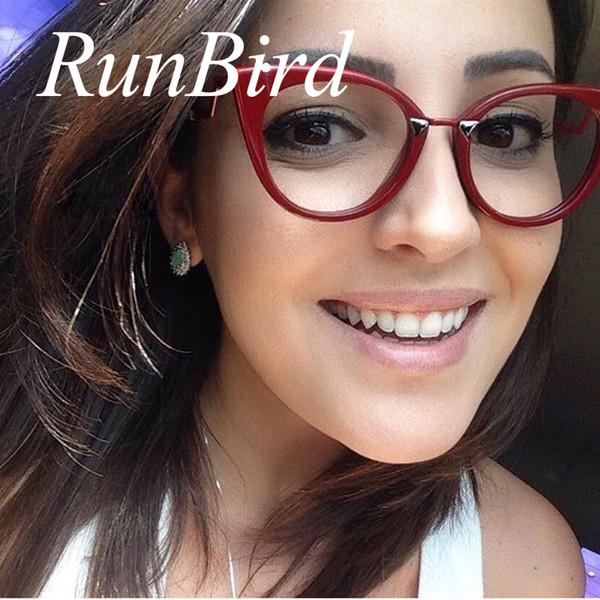 2017 Fashion Cat Eye Clear Sunglasses Women Brand Designer Sexy Lady Sun Glasses Red Frame Cateye Female Oculos De Sol 1057R