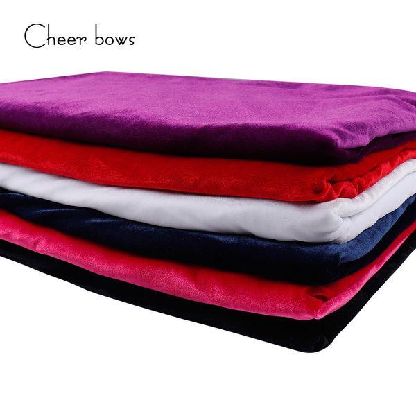 50 cm * 150 cm solide couleur velours tissu bricolage matériaux à la main vêtements à coudre tissu accueil textile vêtements à coudre fournitures