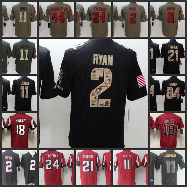 60064afe 2019 Atlanta Falcons #11 Julio Jones 2 Matt Ryan 18 Ridley Jersey Mens 21  Deion Sanders 24 Devonta Freeman Jerseys S 4XL From Jerseys4us, $21.17 | ...