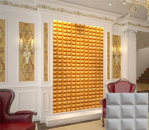 Castle home ktv hotel cafe shop decor More colorfull Waterproof bread Shape Designed Light-weight 3D PVC Wall/Ceilling Panels