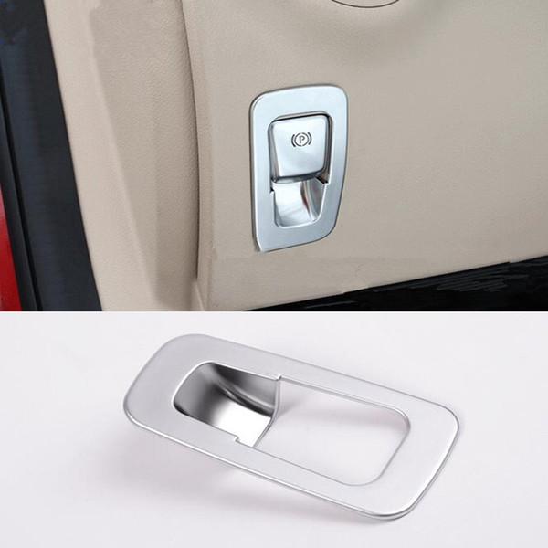 Decoração eletrônica das lantejoulas do freio de mão do arquivo do ABS P do cromo para o Benz de Mercedes Classe nova W205 / da classe nova W213 / GLC X253 do Benz de P