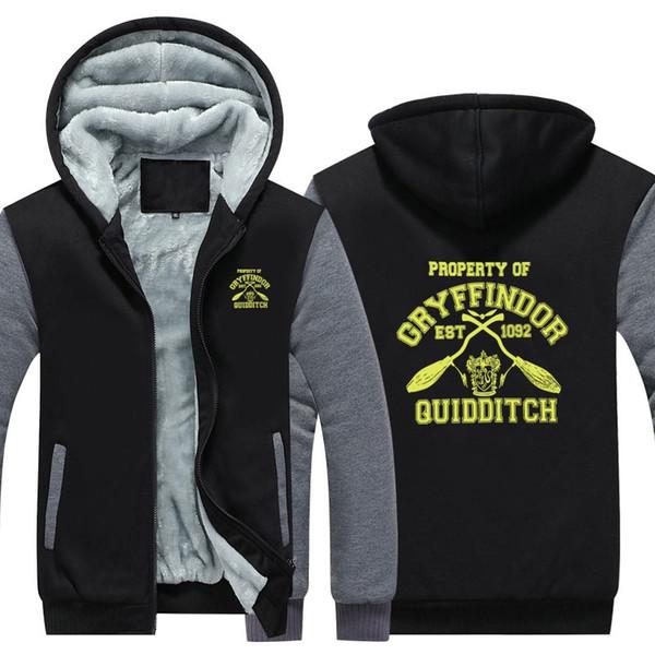 2018 neue Männer Winter Herbst Hoodies Muster Fleece Mantel Baseball Uniform Sportswear Jacke Wolle USA Größe
