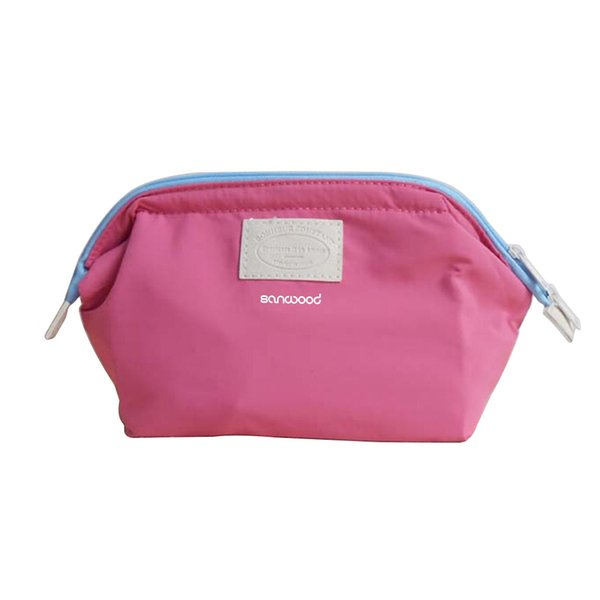 4 colors Waterproof Nylon Beauty Travel Cosmetic Bag Makeup Case Make up Pouch Cosmetic Cases