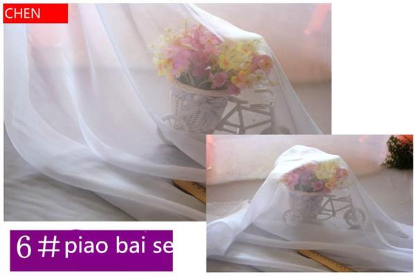 150 cm breite Chiffon stoff weichen stoff für kleid futter tuch material 30d georgette material hochzeit für DIY materialien DK013