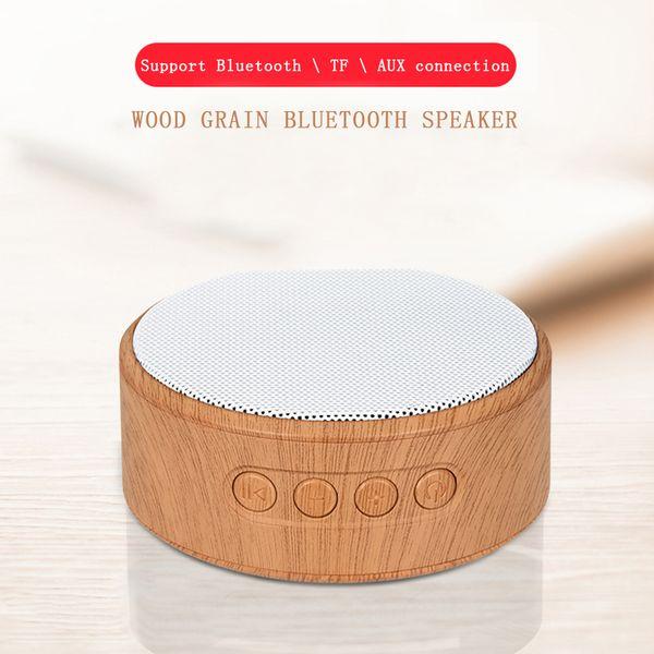 Wooden Bluetooth Speaker Wireless Mini Speaker Handsfree MP3 Support SD Card AUX Radio Subwoofer For Smartphone Computer