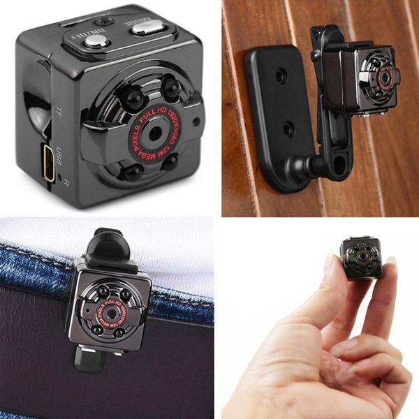 Mini Camera SQ8 Micro DV Camcorder Action Night Vision Digital Sport DV Wireless Mini Voice Video TV Out Camera HD 1080P 720P Free Shipping