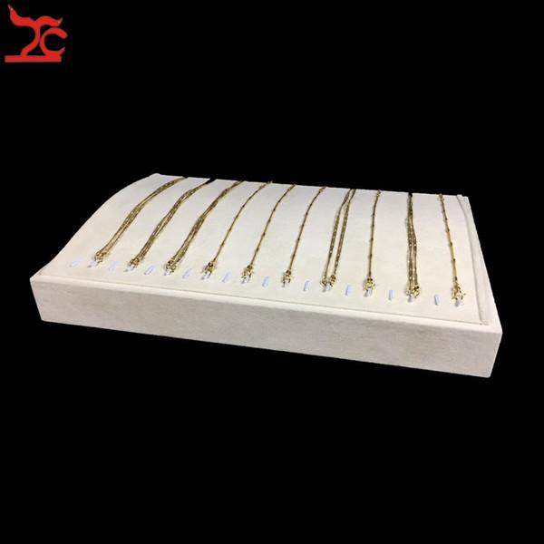 Jewellery Display Casket for 20pcs Chain Velvet Display Jewelry Trays, Jewelry Display Necklace, Necklace Holder