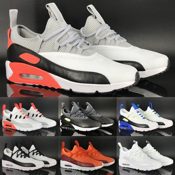 2019 2018 New Arrive 90 EZ Men Casual Shoes Summer Super Light BREATHABLE 90 MESH Mens Outdoor Walking Shoes Eur 40 45 Chs From Yz003500store, $120.61