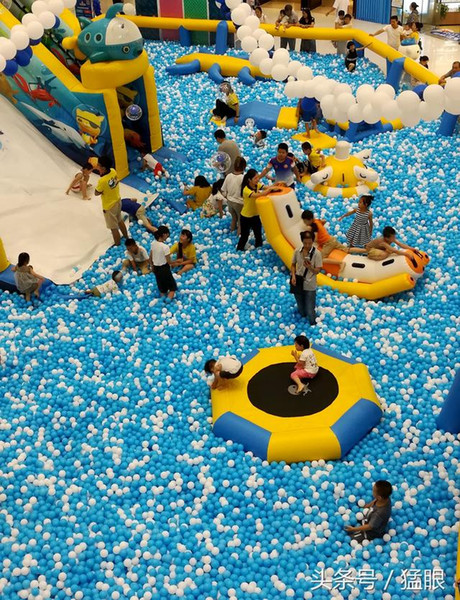 top popular 100 pieces wholesale Ball Pits ocean ball swimming ball toy 8 cm size plastic balls children's playground shipping by sea 2020