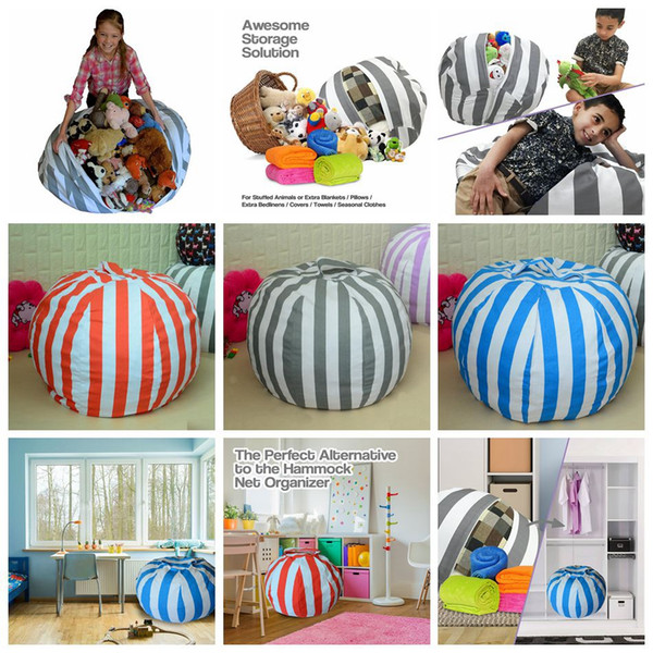 Phenomenal 2019 Storage Bean Bags 80Cm Kids Bedroom Beanbag Chair Plush Toys Stuffed Animal Play Room Mats Portable Clothes Storage Tool Ooa3984 From Top Toy Caraccident5 Cool Chair Designs And Ideas Caraccident5Info