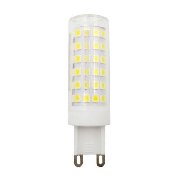 10 UNIDS G9 T5 LED Bombilla 78-2835 Lámpara Regulable Cerámica Luces 6W Resaltar Blanco Fresco 6500K