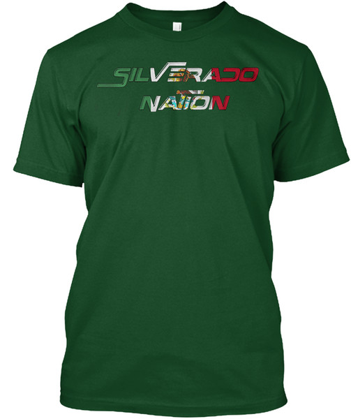 T-shirt Tee shirt populaire Silverless Nation