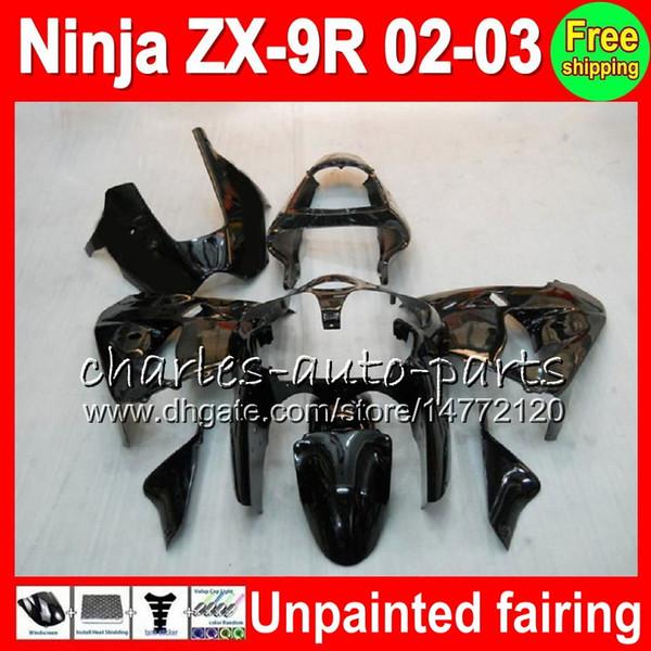 top popular Unpainted Full Fairing Kit For KAWASAKI NINJA ZX 9 R ZX9R 00 01 02 03 900CC 40NO0 ZX 9R ZX900 ZX900C ZX-9R 2000 2001 2002 2003 Fairing kit 2019