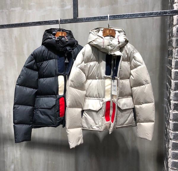 Men Down Jacket Warm Winter Overcoat Outdoor Winter Jacket Coat Fashion Hooded Brand Man Down Parka Men Coat Outerwear