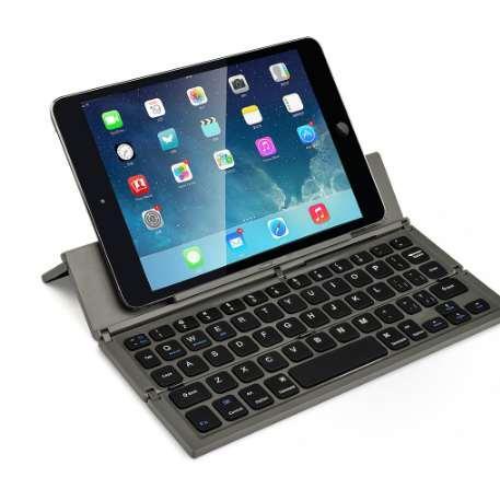 CL-888 Tastiera senza fili portatile Tastiera pieghevole BT per computer portatile da tavolo Mini supporto per tastiera per iOS