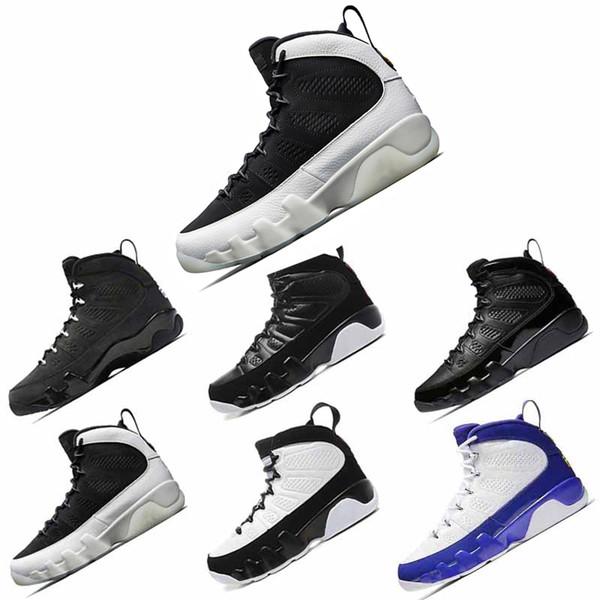Nike Jordan 9 9s chaussures de basket-ball OG Space Jam homme chaussures de basket-ball blanc noir rouge chaussures de sport athlétique Sneakers taille 41-47 drop shipping