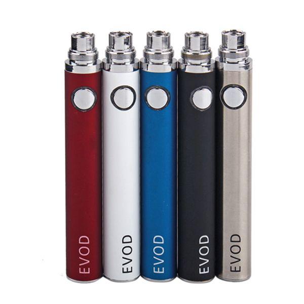 New EGO E Cigarette EVOD Battery 650 900 1100mAh battery for MT3 CE4 CE5 CE6 mini protank atomizer clearomizer E cig Kit 10 colors