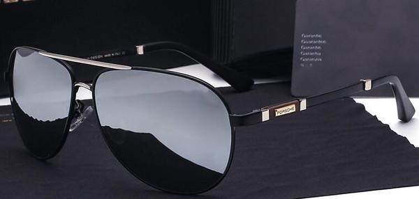 9c329f4be806d P8518 Óculos de Design Dos Homens Polarizados Porsche P8518 Óculos De Sol  Da Marca Designer De