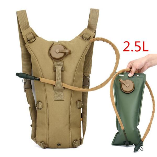 Camping Jagd Wasser Tasche Rucksack Outdoor Tarnung Fahrrad Reiten Sport Wasser Tasche 2.5L Tank Wild Wiederauffüllung der taktischen Wasser Tasche