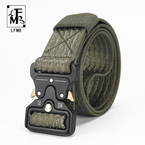 [LFMB] Cinto Tático Masculino Tactical Belt Outdoor Tactical Nylon Ao Ar Livre multifuncional ceintures