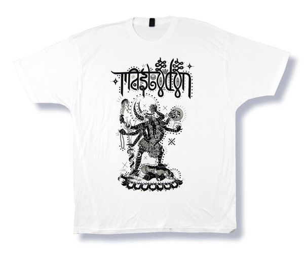 Mastodon Eating Hearts White T Shirt New Official wholesale 2018 Men'S Lastest New Men tee 2018 fashion T-Shirts Summer short sleeves