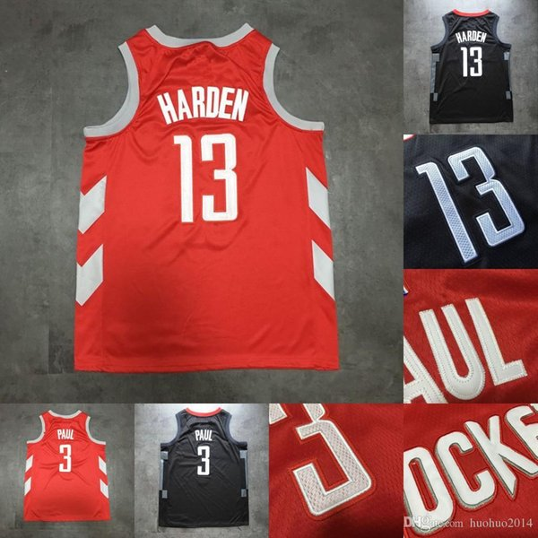 sports shoes f0c32 eadc8 2018 #7 Carmelo Anthony Houston 13 James Harden 3 Chris Paul Jersey #23  Lebron James Los Angeles Jersey All Stitched Jersey From Huohuo2014, $16.1  | ...