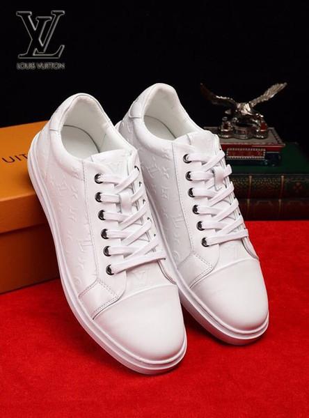 Em alto-relevo sapatos de cordão branco 2058 guan Homens Vestido Sapatos BOTAS PUXADORES DRIVERS BUCKLES SNEAKERS SANDALS